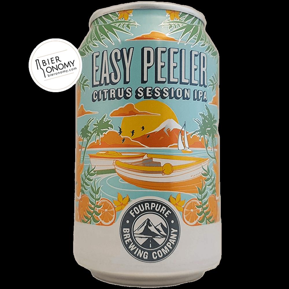 Easy Peeler Citrus Session IPA Fourpure Brewing Co Bière Artisanale Bieronomy