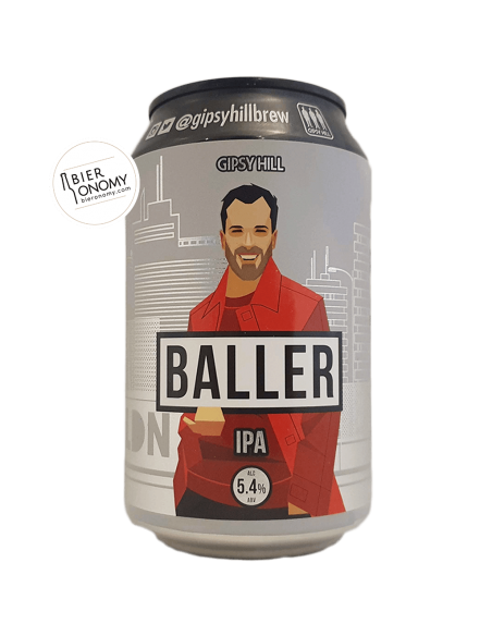 Baller New England IPA The Gipsy Hill Brewing Company Bière Artisanale Bieronomy