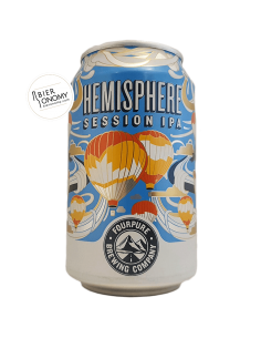 Hemisphere Session IPA Fourpure Brewing Co Bière Artisanale Bieronomy