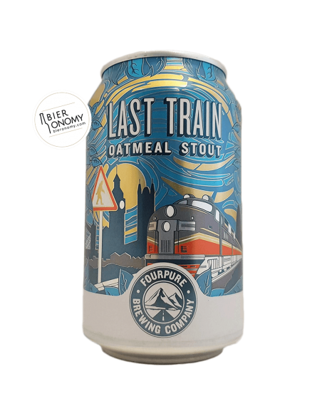 Last Train Oatmeal Stout Fourpure Brewing Co Bière Artisanale Bieronomy