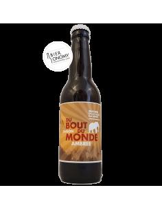 Saison du Bout du Monde Ambrée Brasserie de la Vallée du Giffre Bière Artisanale Bieronomy