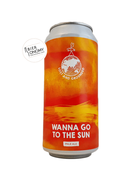 Wanna Go To The Sun Pale Ale 44 cl Lost And Grounded