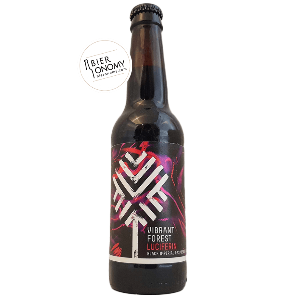 Raspberry Luciferin Black Gose 33 cl Vibrant Forest Brewery