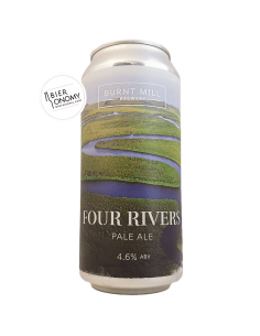 Four Rivers Pale Ale Burnt Mill Brewery Bière Artisanale Bieronomy