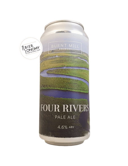 Four Rivers Pale Ale Burnt Mill Brewery Bière Artisanale Bieronomy