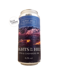 Lights On the Hill Kveik IPA India Pale Ale Burnt Mill Brewery Bière Artisanale Bieronomy
