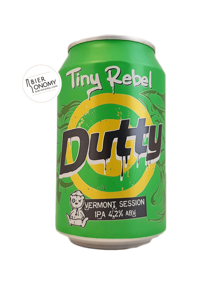 Dutty Vermont Session IPA 33 cl Tiny Rebel