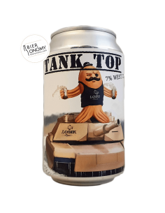 Tank Top West Coast IPA 33 cl Lobik Brasserie