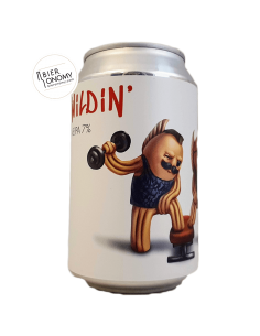 Wildin' NEIPA New England India Pale Ale 33 cl Lobik Brasserie
