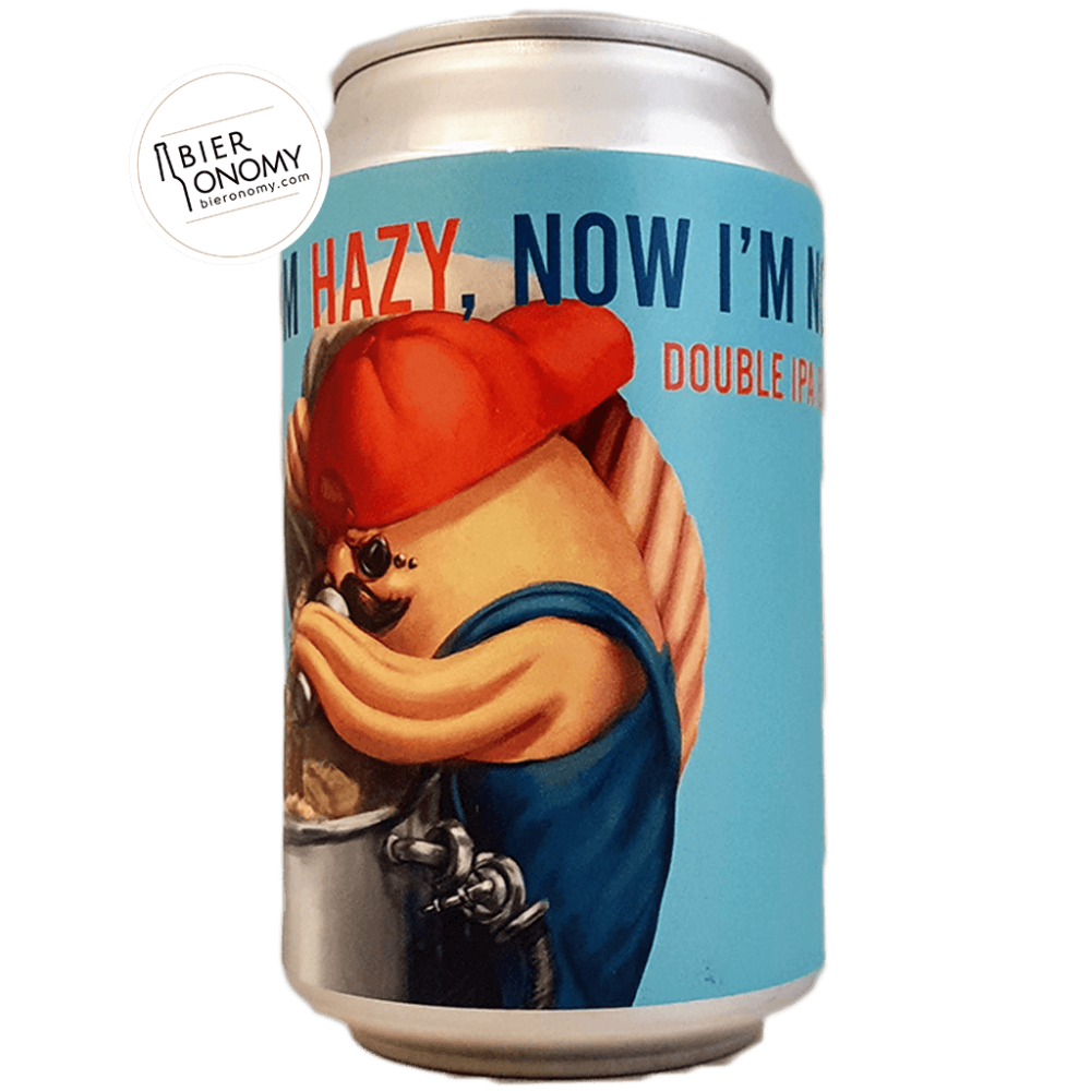 Now I'm Hazy, Now I'm Not DIPA 33 cl Lobik Brasserie