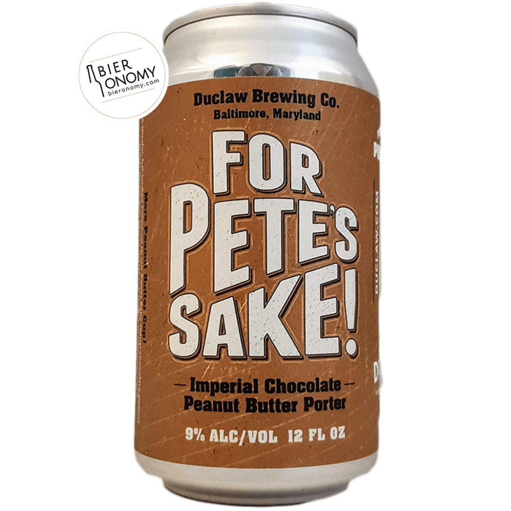 For Pete's Sake Imperial Porter 35,5 cl Duclaw Brewing