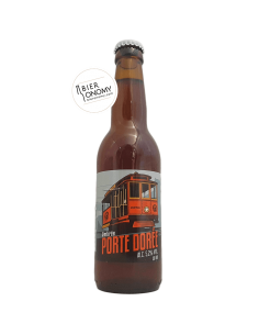 Porte Dorée Red Ale 33 cl Brasserie du Grand Paris