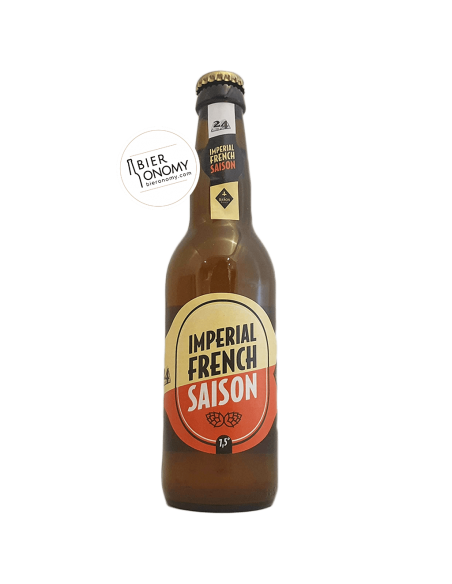 Imperial French Saison 33 cl Brasserie Page 24 St Germain x Au Baron