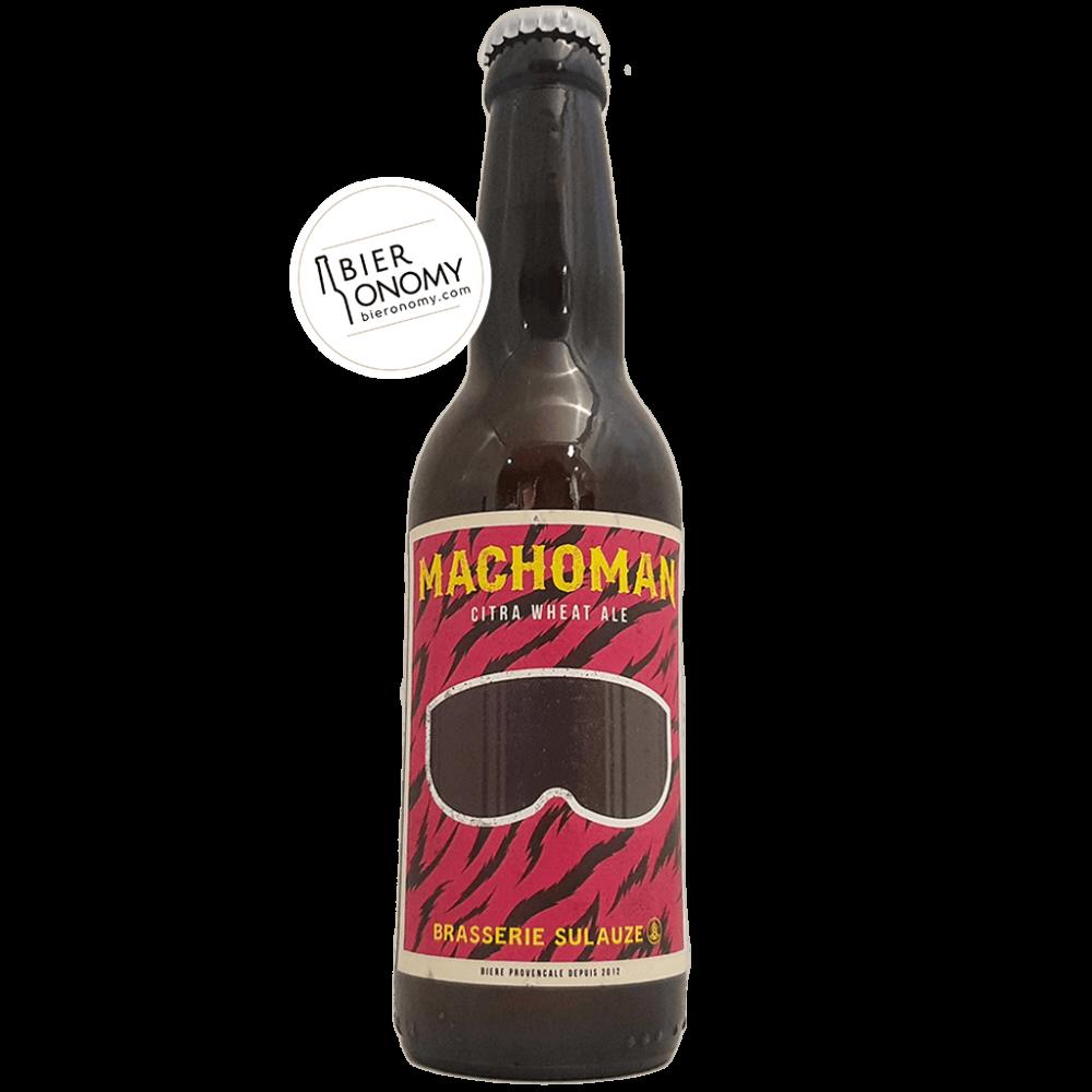 Machoman Citra Wheat Ale 33 cl Brasserie Sulauze