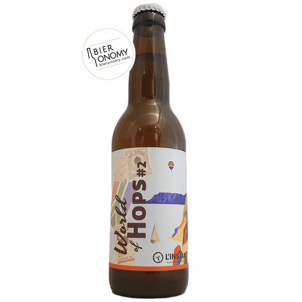 World of Hops 2 DDH IPA 33 cl Brasserie L'Instant