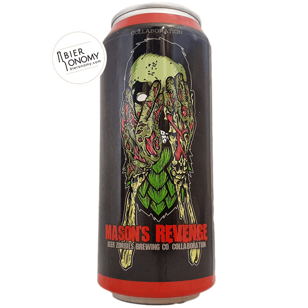 Mason's Revenge DIPA 47 cl Beer Zombies Brewing Co x Mason's