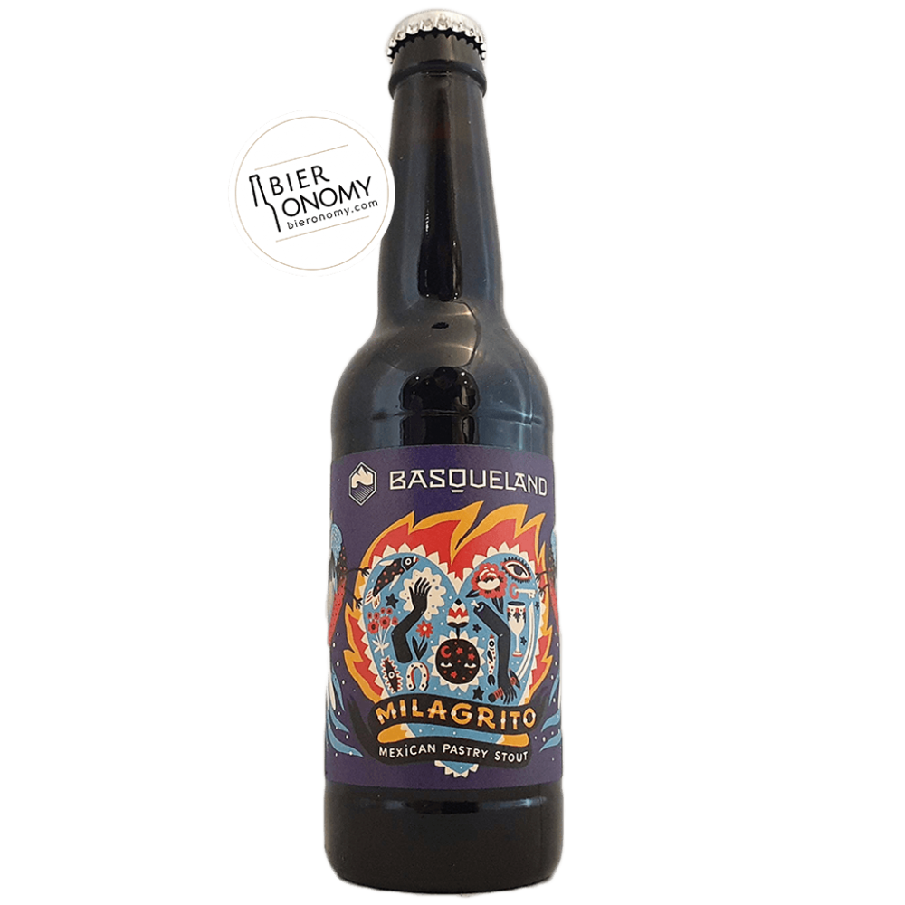Milagrito Mexican Pastry Stout 33 cl Basqueland Brewing