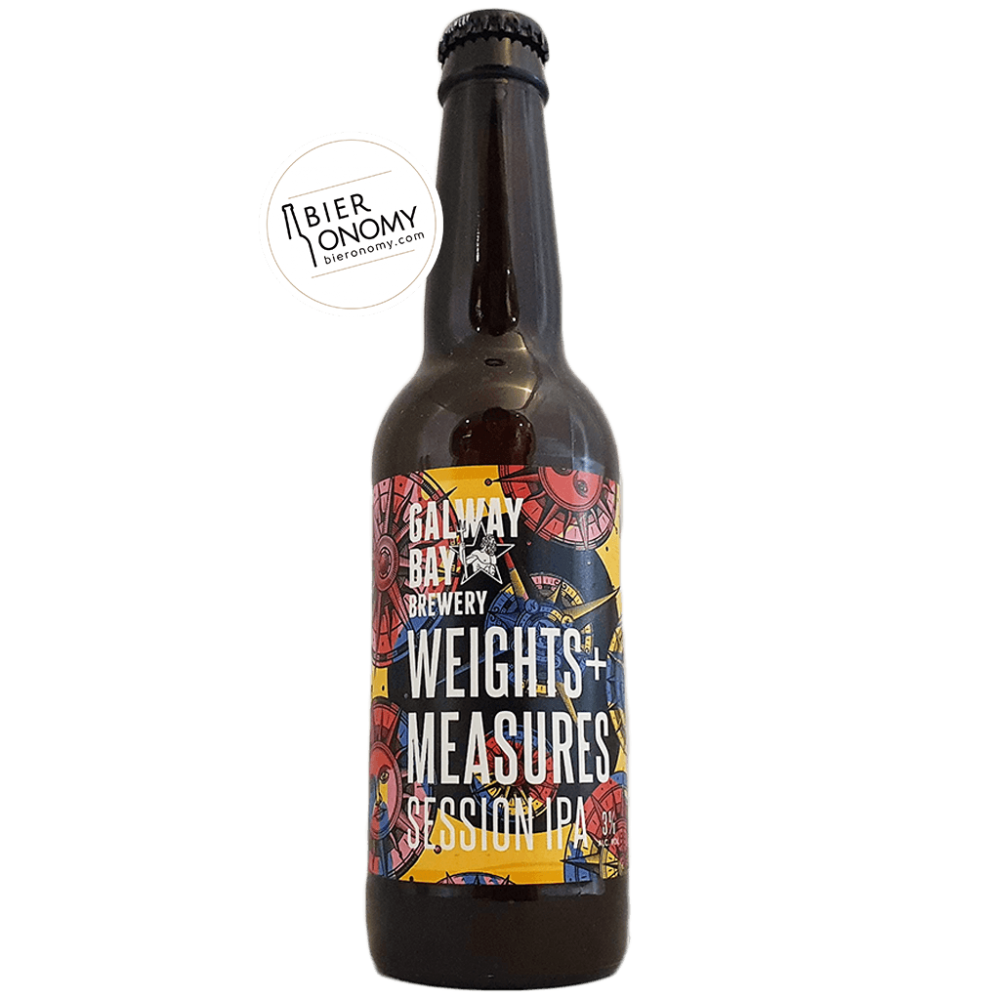 Weights + Measures Session IPA 33 cl Galway Bay Brewery