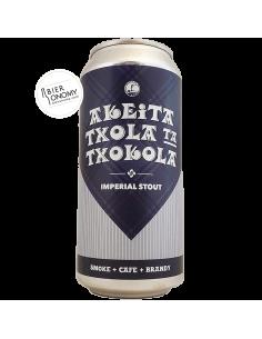 Akeita Txola Ta Txokola Imperial Stout 44 cl Sesma Brewing