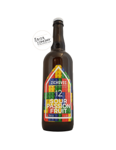 Sour Passion Fruit 12 75 cl Zichovec Brewery