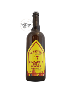 Pineapple Milk Power 17 Milkshake IPA 75 cl Zichovec Brewery