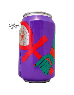 Tefnut Blueberries and Vanilla Triple Fruited Imperial Gose 33 cl Omnipollo x The Veil Brasserie