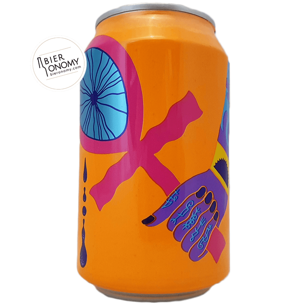 Tefnut Orange and Vanilla Triple Fruited Imperial Gose 33 cl Omnipollo x The Veil Brasserie