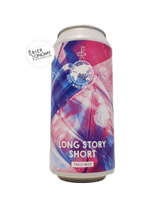 Bière Long Story Short Table Beer 44 cl Brasserie Lost And Grounded Brewery