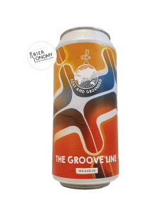 Bière The Groove Line Hefeweizen 44 cl Brasserie Lost And Grounded Brewery