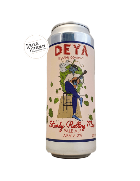 Bière Steady Rolling Man New England Pale Ale 50 cl Brasserie DEYA Brewing