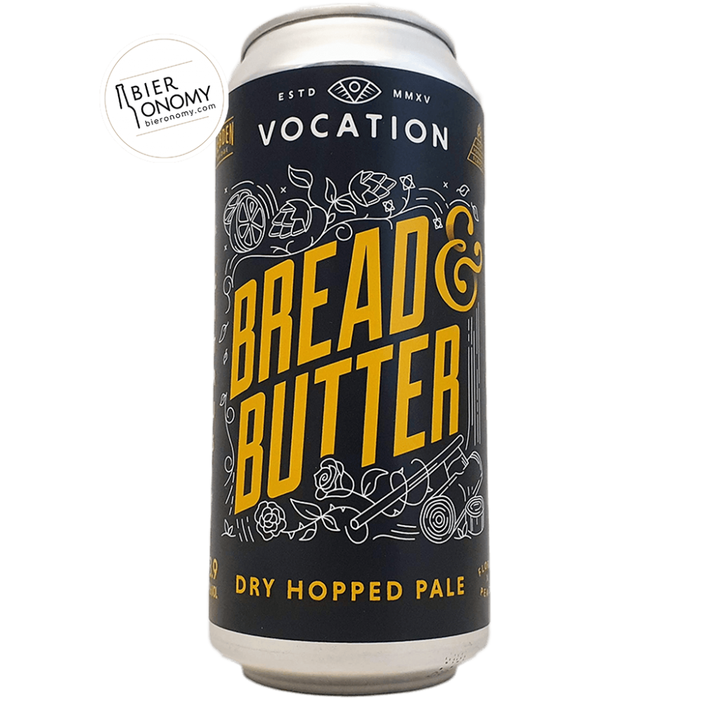 Bière Bread & Butter Dry Hopped Pale 44 cl Brasserie Vocation Brewery