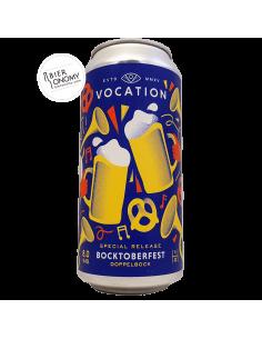 Bière Bocktoberfest Doppelbock 44 cl Brasserie Vocation Brewery