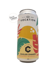 Bière Cooler Shaker Milkshake IPA 44 cl Brasserie Vocation Brewery x CRATE