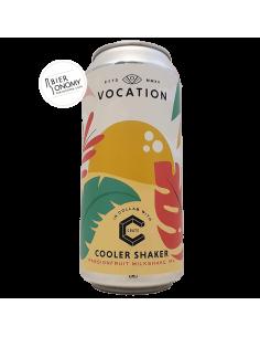 Bière Cooler Shaker Milkshake IPA 44 cl Brasserie Vocation Brewery x CRATE
