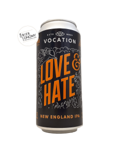 Bière Love & Hate NEIPA 44 cl Brasserie Vocation Brewery