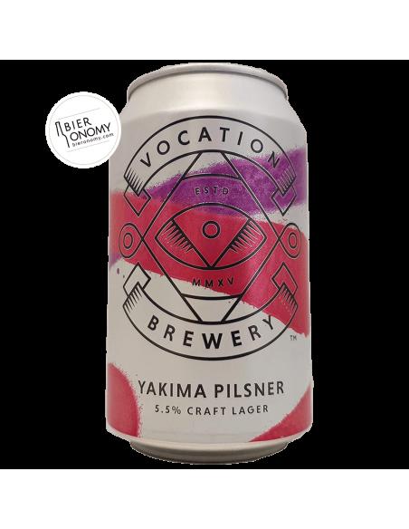 Bière Yakima Pilsner 33 cl Brasserie Vocation Brewery