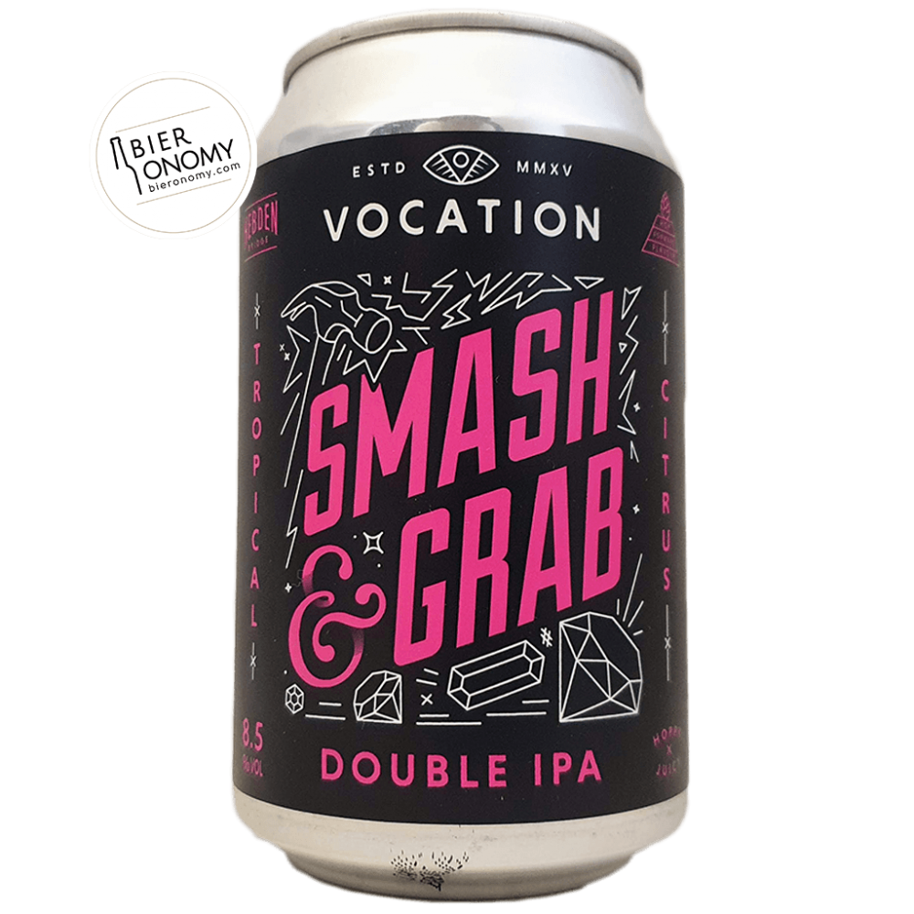 Bière Smash & Grab DIPA 33 cl Brasserie Vocation Brewery