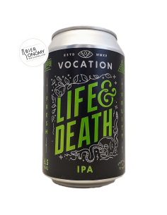 Bière Life & Death IPA 33 cl Brasserie Vocation Brewery