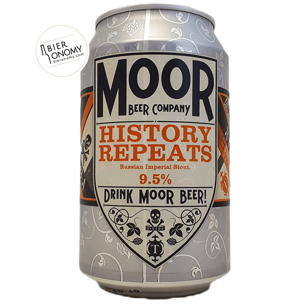 Bière History Repeats Russian Imperial Stout 33 cl Brasserie Moor Beer Co x Thornbridge