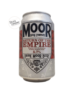 Bière Return Of The Empire IPA 33 cl Brasserie Moor Beer Co