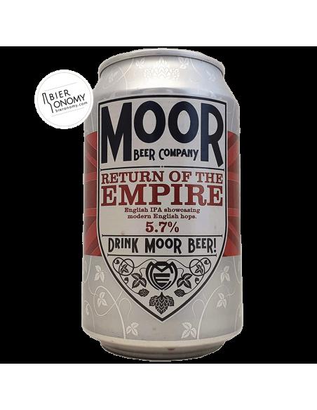 Bière Return Of The Empire IPA 33 cl Brasserie Moor Beer Co
