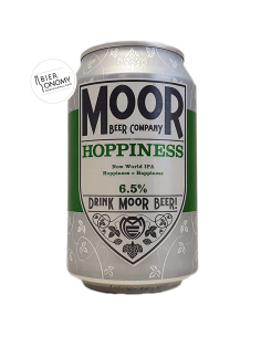 Bière Hoppiness IPA 33 cl Brasserie Moor Beer Co