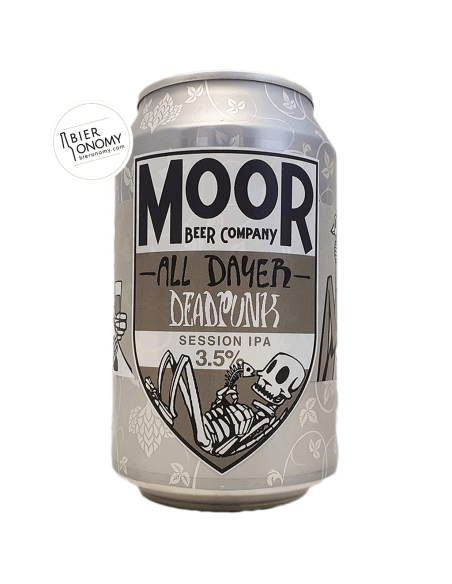 Bière Dead Punk All Dayer Session IPA 33 cl Brasserie Moor Beer Co