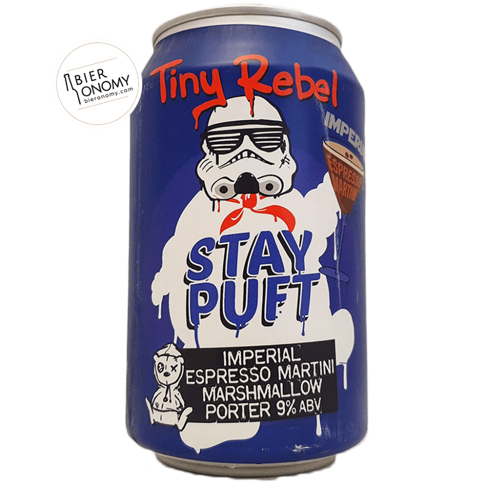 Bière Imperial Espresso Martini Stay Puft Porter 33 cl Brasserie Tiny Rebel Brew Co