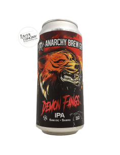 Bière Demon Fangs IPA 44 cl Brasserie Anarchy Brew Co