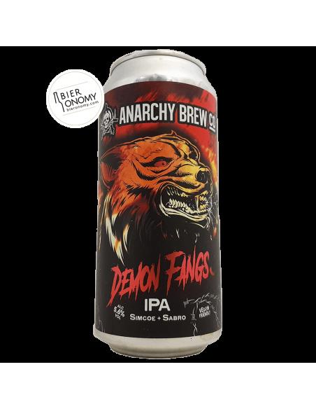 Bière Demon Fangs IPA 44 cl Brasserie Anarchy Brew Co