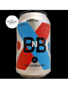 Bière B'n'B 01 DDH Double IPA 33 cl Brasserie BrewHeart Brewery x Blech.Brut