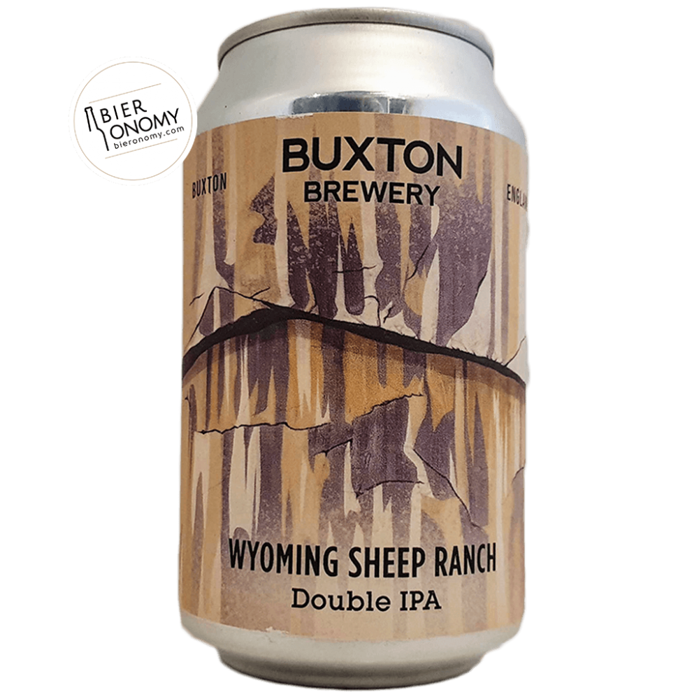Bière Wyoming Sheep Ranch 2020 DIPA 33 cl Brasserie Buxton Brewery