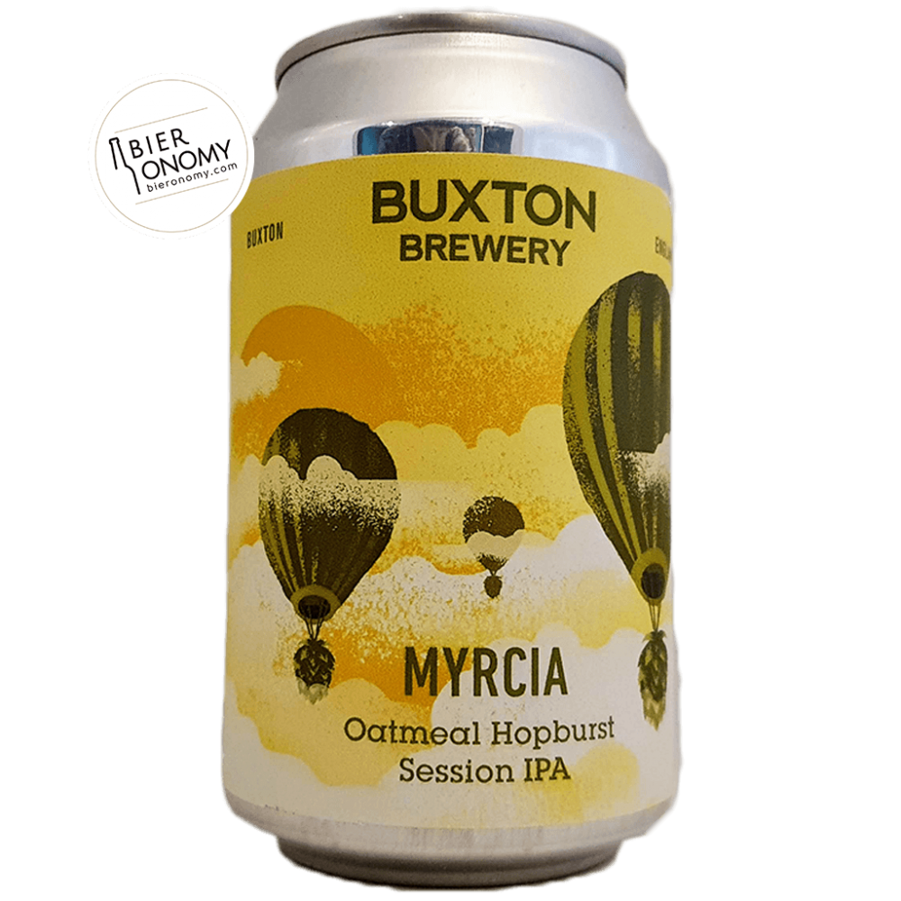 Bière Myrcia Session IPA 33 cl Brasserie Buxton Brewery