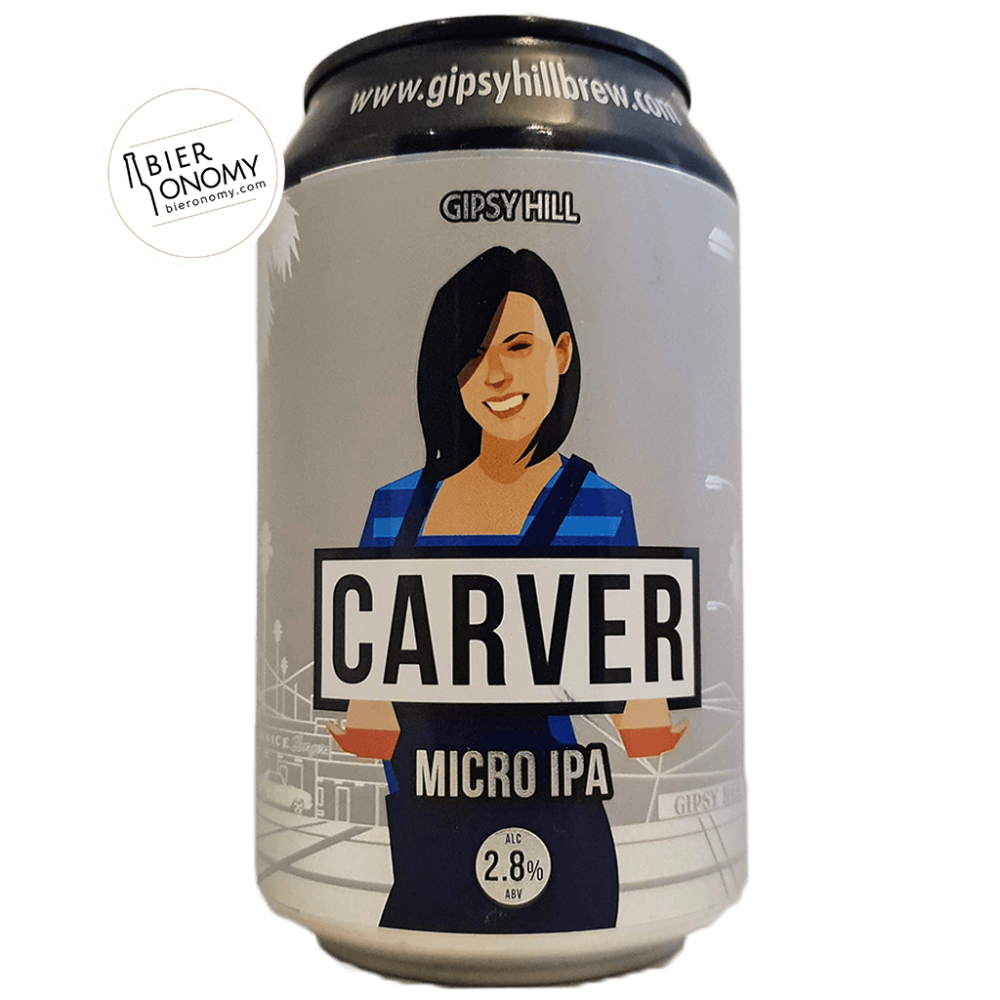 Bière Carver Micro IPA 33 cl Brasserie Gipsy Hill Brewing Company